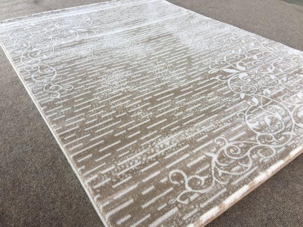 релефен килим ривиера 7326 крем